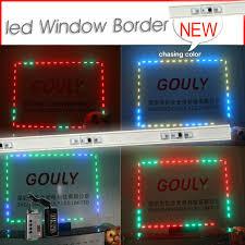 window lights led led lights simple installation around