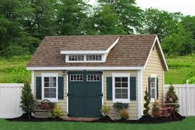 Backyard Storage Building by Buy Amish Storage Sheds And Prefab Garages Add Space For Life