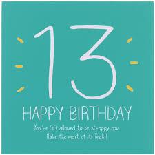 happy jackson 13th happy birthday card temptation gifts