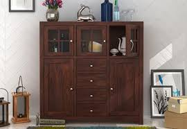 Computer Cabinet Online India Wooden Cabinets Online Buy Sideboards U0026 Cabinet India