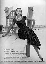 204 best polka dot dresses images on pinterest clothes vintage