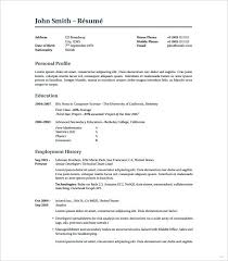 resume exle template resume template issue gallery best 8 word excel modern