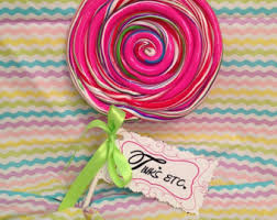 Fake Lollipop Decorations Fake Candy Etsy
