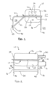 patent us7284549 portable barbeque grill google patents