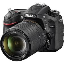 nikon d7200 dslr camera with 18 140mm lens 1555 b u0026h photo video