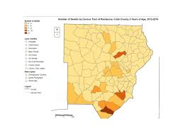 Demographic Map By Zip Code Data Shows Alarming Infant Mortality Rate In A Part Of South Cobb