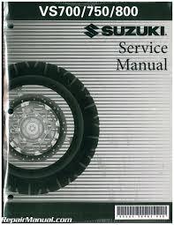 1985 2009 suzuki vs700 vs750 vs800 s50 motorcycle service manual