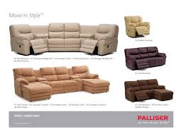 chair fabulous palliser sectional sofas with chaise lounge