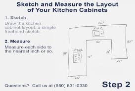 how to measure for kitchen cabinets home design