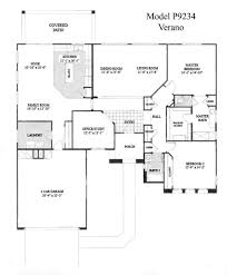 Model Home Floor Plans Sun City Grand Verano Floor Plan Del Webb Sun City Grand Floor