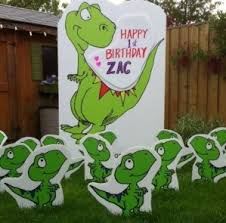 Birthday Lawn Decorations Birthday Yard Decorations For The Ultimate Surprise