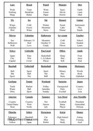 esl printable word games for adults teaching english taboo game cards free printable game cards