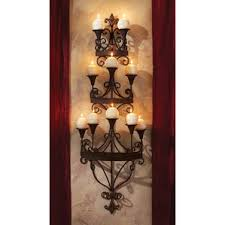Iron Candle Wall Sconce Candle Sconces You U0027ll Love Wayfair
