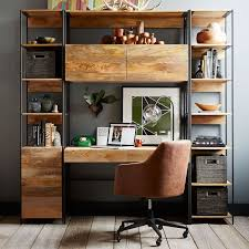 Wood Desk Chair by Helvetica Leather Office Chair West Elm
