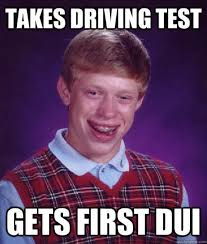 Unlucky Things Being Bad Luck Brian When The Meme That Made You Famous Starts To
