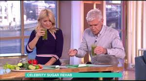 lucy and anna decinque before this morning health segment sees holly u0026 phillip drink u0027vile