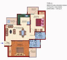 Livia Condo Floor Plan by Kendriya Awas Welfare Housing Society Regd Homes For