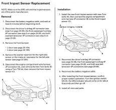 Srs Light On 7g Accord Seatblet U0026 Srs Light Help Honda Tech Honda Forum