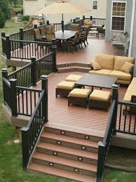 Pinterest Decks by Backyard Deck Designs Best 25 Tiered Deck Ideas On Pinterest Two