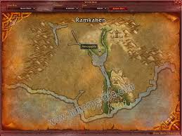 Wow Kalimdor Map Send Word To Phaoris World Of Warcraft Life
