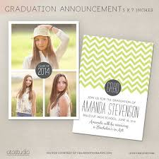 senior graduation announcement templates best 25 graduation announcement template ideas on