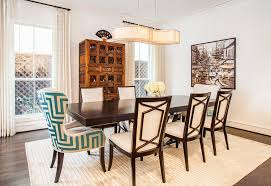 wingback dining chairs dining room transitional with clean lines