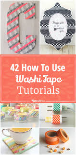 How To Make Locker Decorations At Home 42 How To Use Washi Tape Tutorials Tip Junkie