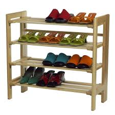 bedroom simple white tone shoe rack organizer for closet as well
