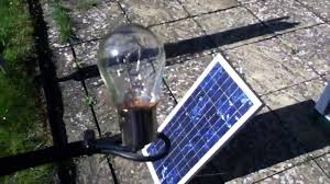 Solar Plant Lights by 20w Solar Panel 21w Bulb A Perfect Match Part 1 Youtube