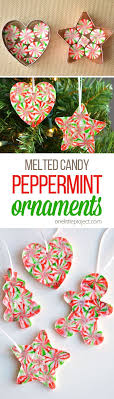 melted peppermint ornaments recipe