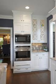 Transitional Kitchen Designs Photo Gallery Alpine White Granite Countertop Transitional Kitchen Sherwin