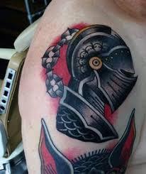 helmet of dark knight tattoo new tattoo pinterest