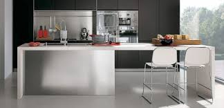 kitchen island contemporary contemporary kitchen with modular work island el 01 by elmar