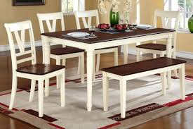 cherry finish solid wood dining table set cherry wood dining room