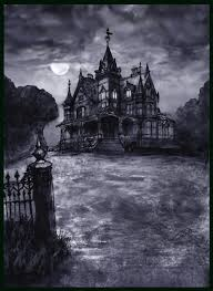 victorian gothic house black walls with victorian gothic house