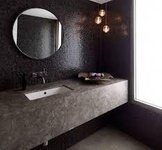 black bathroom mirrors black round bathroom mirror with mosaic tile texture lestnic