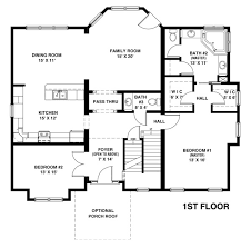 home floor plans with 2 master bedrooms