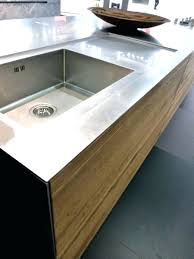 plan de travail inox cuisine professionnel design d intérieur plan de travail inox avier avec acgouttoir