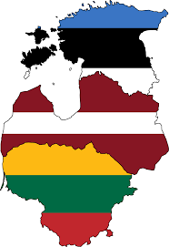 Ca State Flag File Baltic States Flag Map Svg Wikimedia Commons