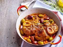 comment cuisiner osso bucco de dinde jarret de veau aux olives facile recette sur cuisine actuelle