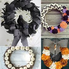How To Make Halloween Wreaths by Diy Halloween Decor Therutledgeteam