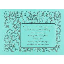Engagement Card Invitations Endearing Blank Engagement Celebration Invitation Card And Green