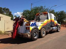 pilbara towing towing tilt tray services