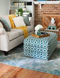 Enchanted Home Storage Ottoman Patterned Storage Ottoman Home Furnishings