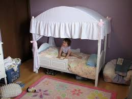 Toddler Bed With Canopy Toddler Canopy Bed One Step Ahead 2 In 1 Canopy Toddler Bed