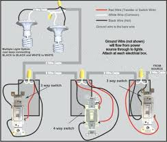 4 way switch wiring diagram multiple lights inspirational 4 way switch wiring diagram multiple lights and house