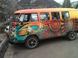 volkswagen van hippie watch the hippie vw bus go youtube