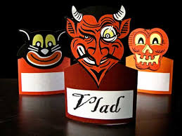 Halloween Party Decorations Halloween Place Cards Or Napkin Holders
