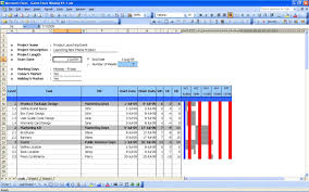 Gantt Chart Excel Template Free Gantt Chart Excel Templates With Project Management