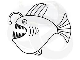 how to draw an anglerfish arts4learners